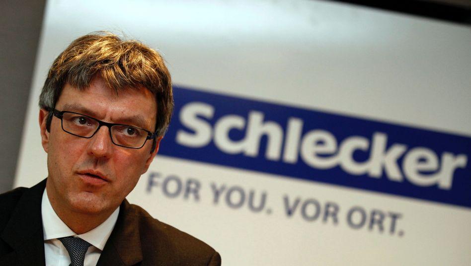 Schlecker-Insolvenzverwalter Arndt Geiwitz: Schwierige Investorensuche