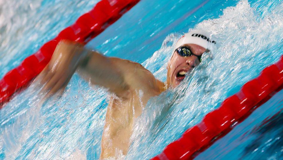 """Schwimmer Biedermann (Archiv): """"Kein optimales Training zugelassen"""""""