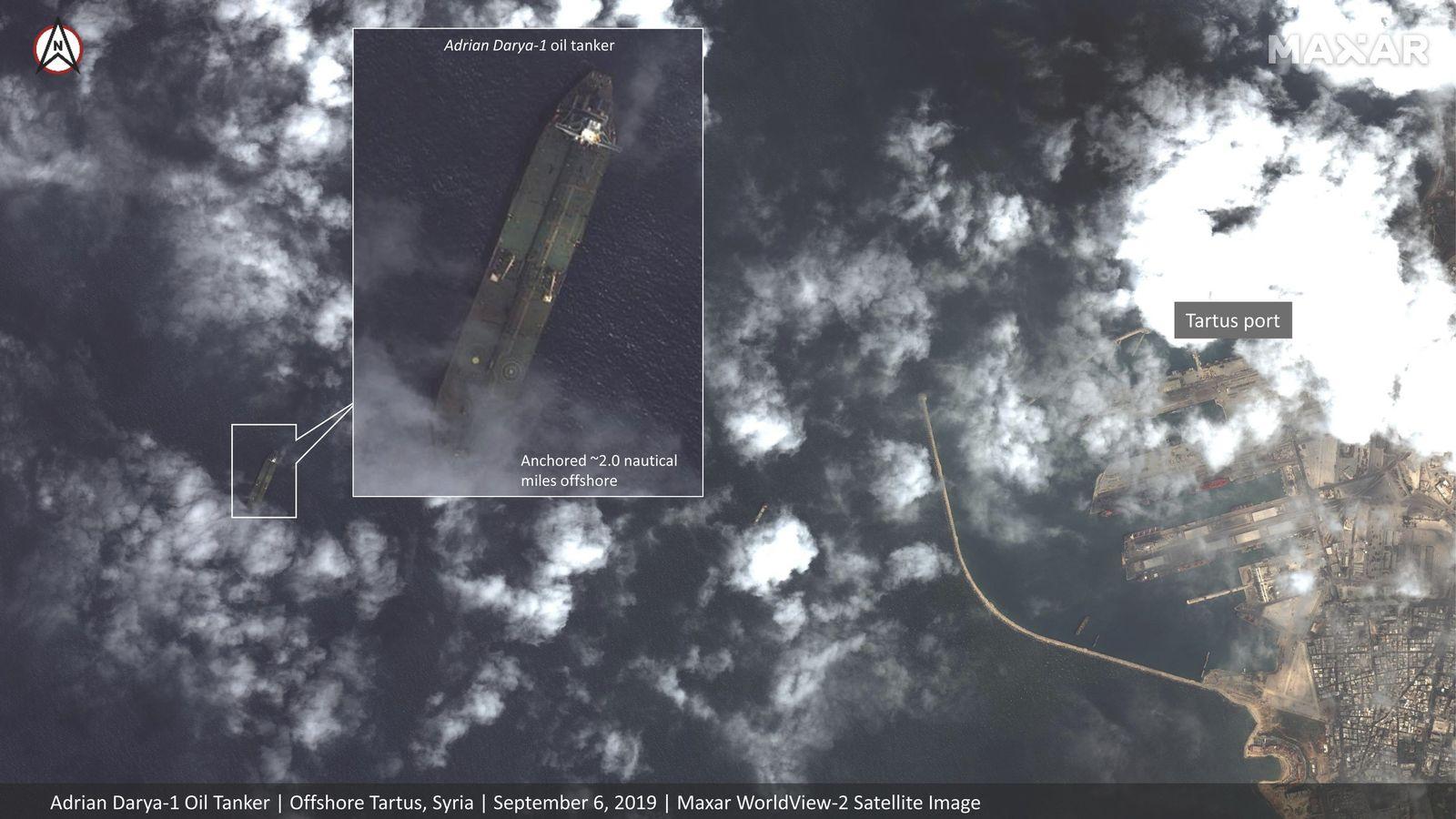 Iran/ Irak/ Tanker/ Adrian Darya-1