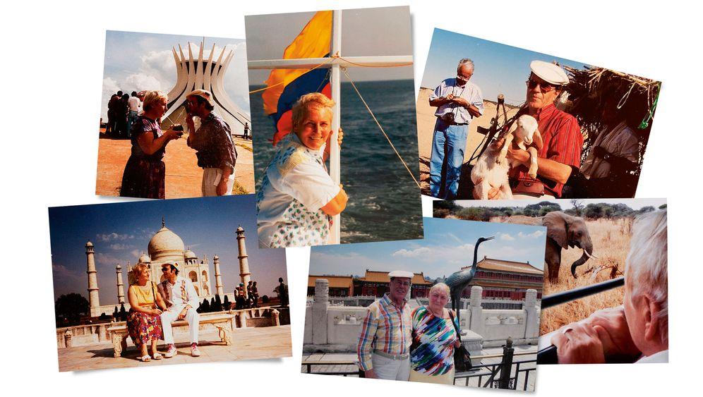 Ehepaar Ronschkowski auf Reisen: Das Glücksgefühl, zum ersten Mal etwas zu sehen