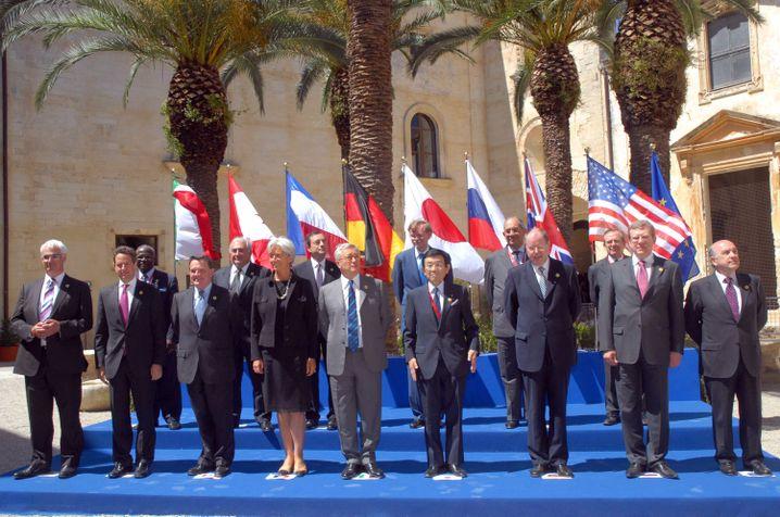 G-8-Finanzminister: Kaum mehr als Allgemeinplätze zu erwarten