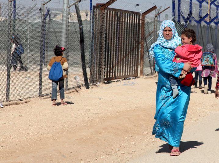 Syrische Kriegsflüchtlinge in Jordanien – wann sie in ihre Heimat zurückkehren können, ist unklar