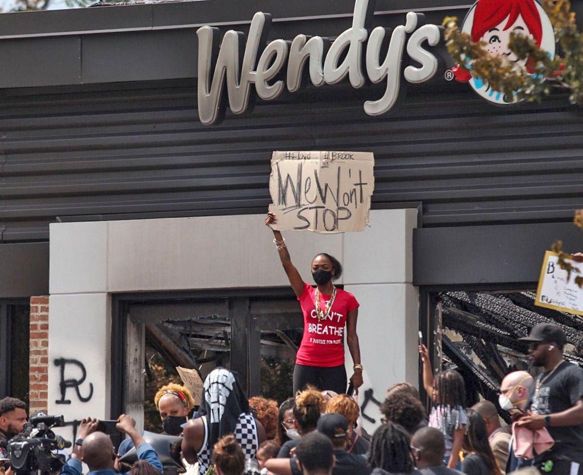 America Protests Georgia
