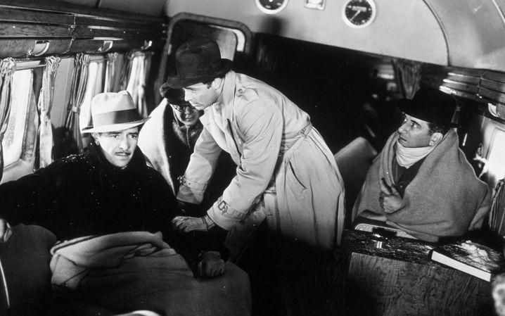 """""""Lost Horizon""""-Darsteller Ronald Colman (links): Abenteuerausflug ins Tal des beinahe ewigen Lebens und des sanftmütigen Gesäftels"""
