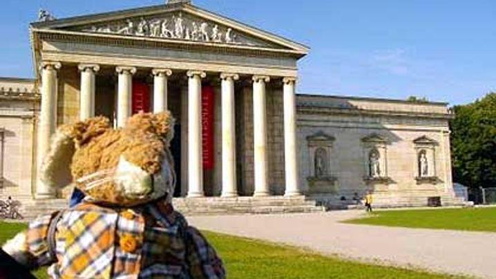 Teddys auf Weltreise: Sightseeing in der Münchner City