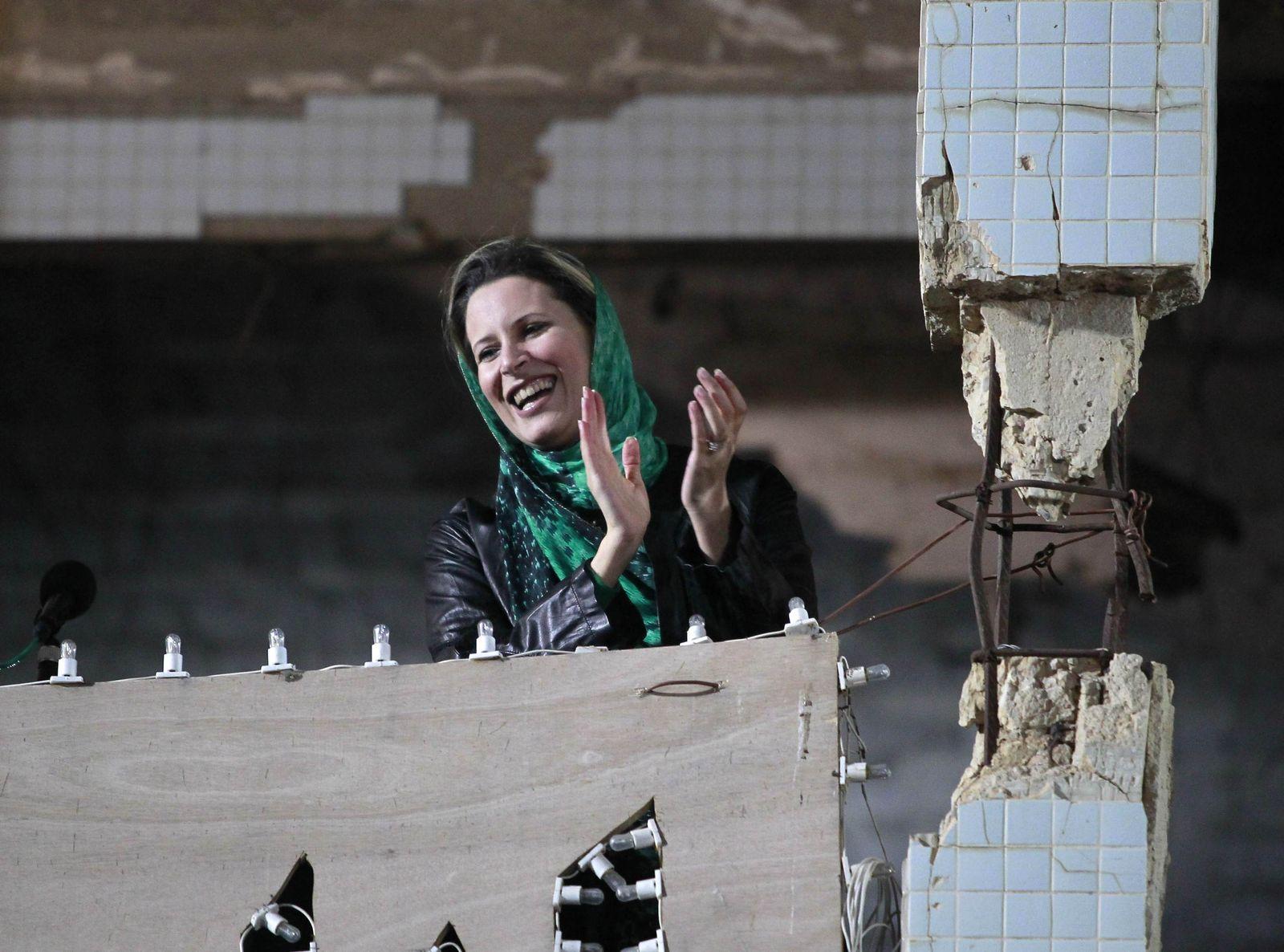 LIBYA-GADDAFI/DAUGHTER