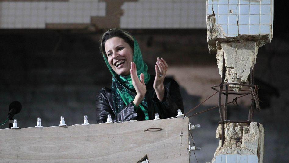 """Einzige Gaddafi-Tochter Aischa: """"Obama hat nichts erreicht"""""""