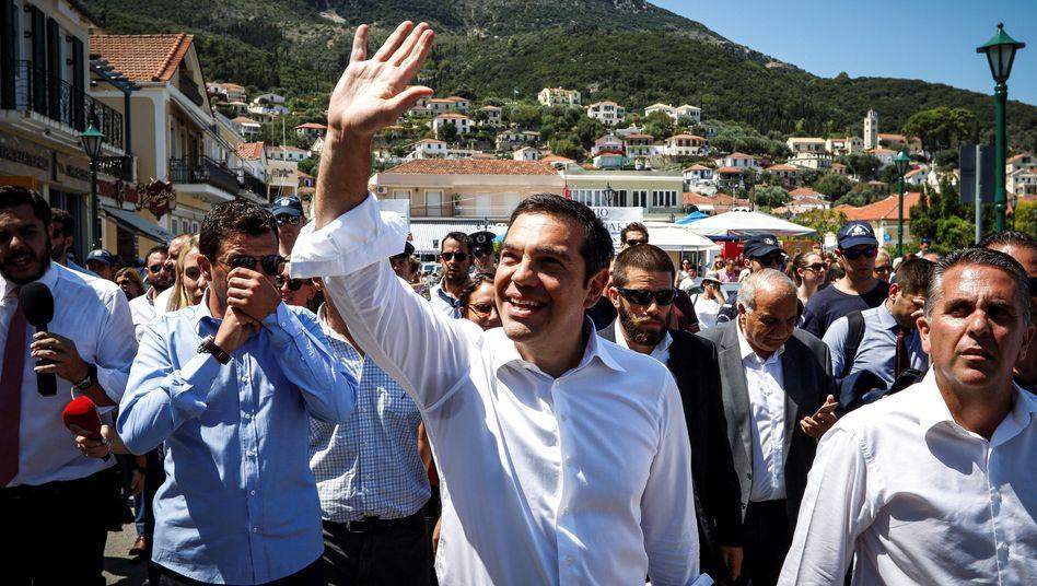 Alexis Tsipras auf Ithaka