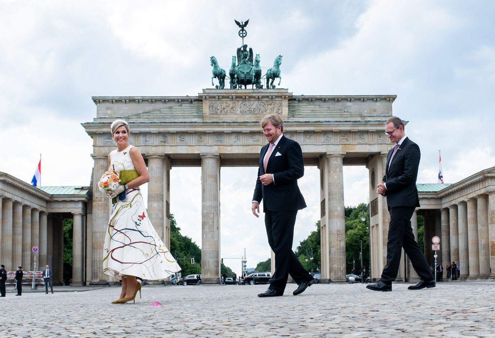 Niederländisches Königspaar besucht Deutschland