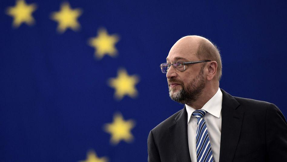 Martin Schulz (SPD), Präsident des Europäischen Parlaments