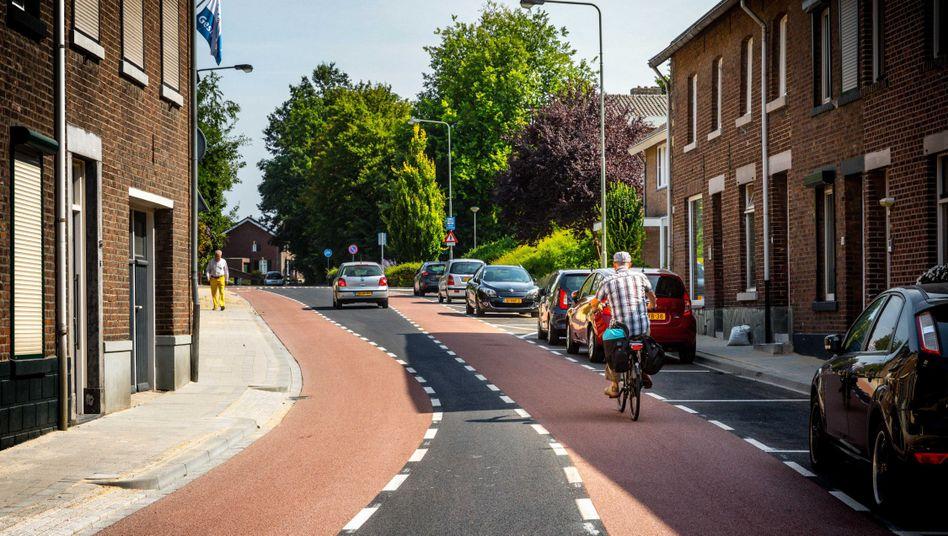 Die Kuileneindestraat im Niederländischen Meerssen