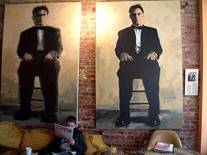 Ausstellung im Café Supercore: Etwas 6000 Künstler leben in Williamsburg