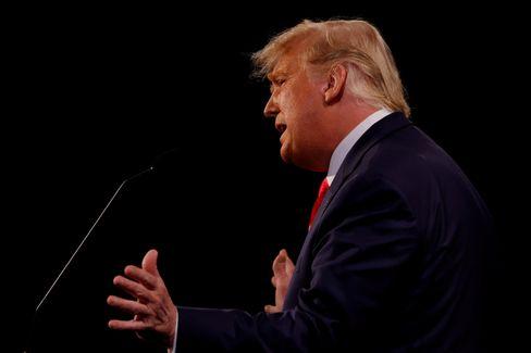 Lügen vom Wahlbetrug: Donald Trump bei der letzten TV-Debatte