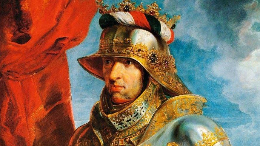 Kaiser Maximilian I. als Ritter, gemalt von Peter Paul Rubens (1618)