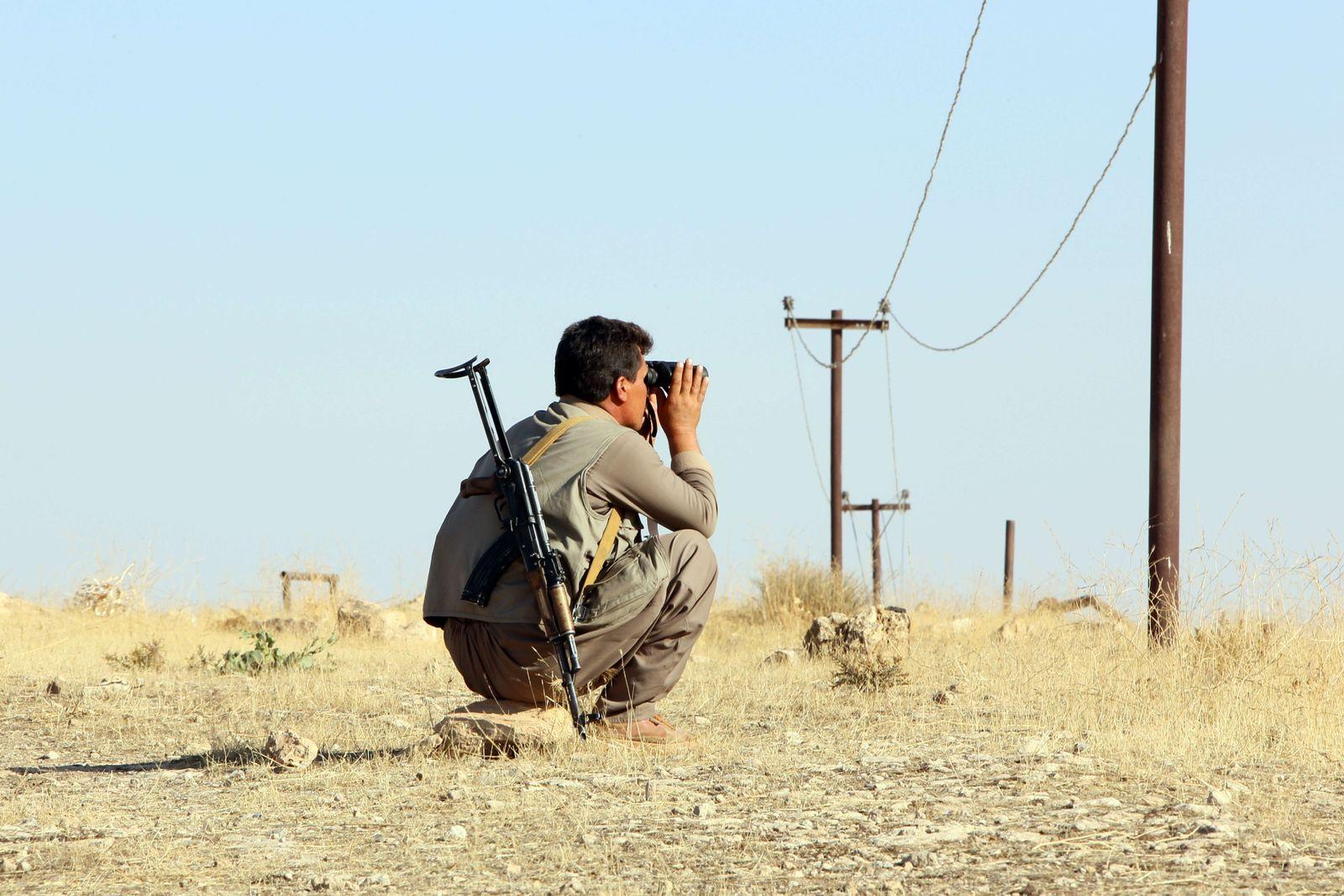 Peschmerga Kurden Mossul IS