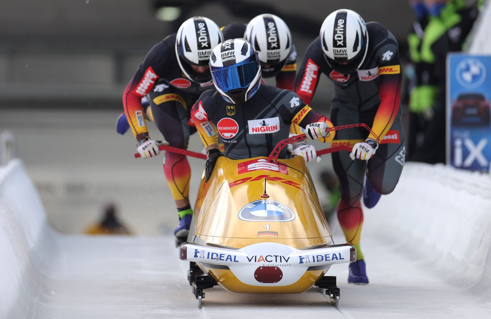 Bobsleigh and Skeleton World Cup, Winterberg, Germany - 10 Jan 2021
