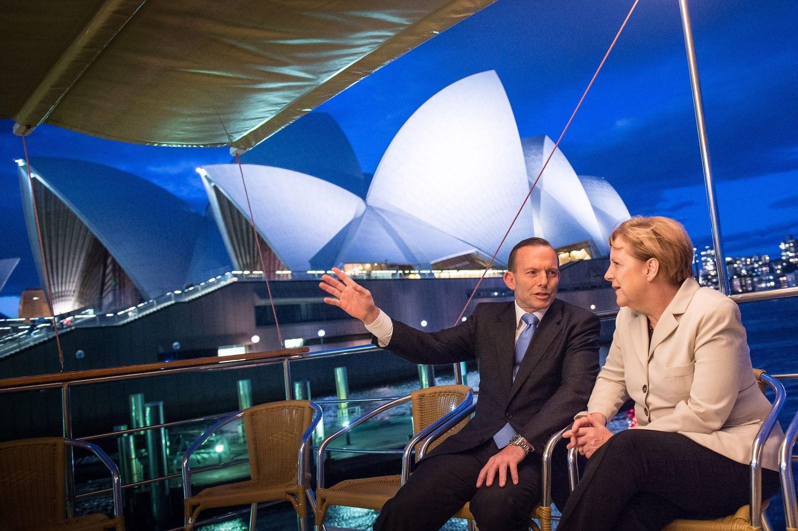 Merkel/ Abbott