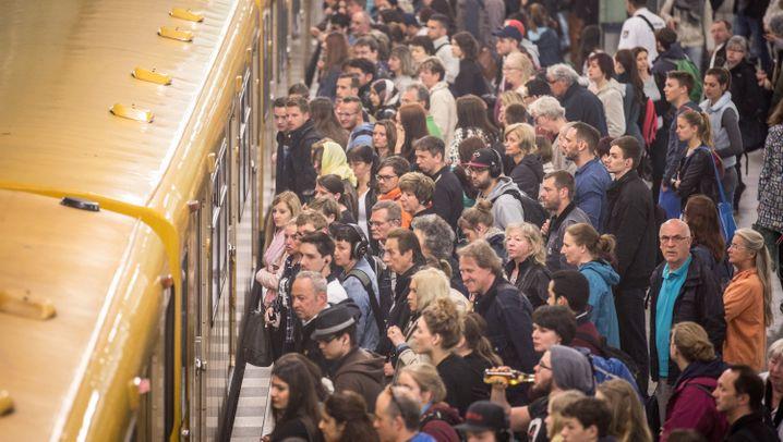 Bahn-Streik: Deutschlandweit viele Ausfälle