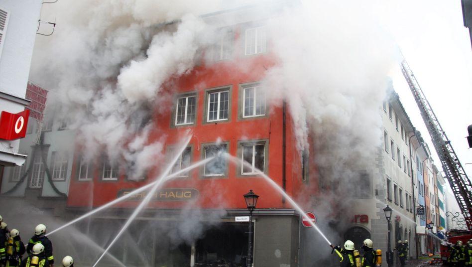 Feuerwehrleute: Beim Berufsprestige ganz vorn