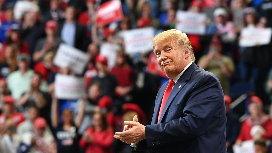 """Donald Trump in Lexington, Kentucky: """"Schaut euch nur die Zahlen an"""""""