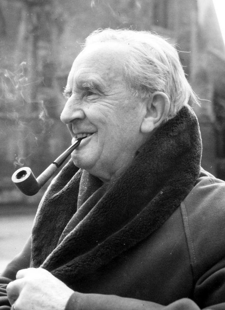 Schriftsteller und Philosoph Tolkien