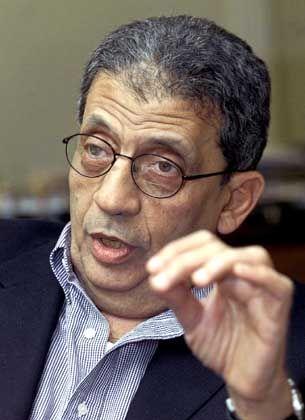 Amre Mussa, Generalsekretär der Arabischen Liga: Frankfurt ist Chefsache