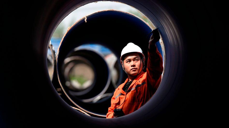 Stahlwerk in chinesischer Provinz Shandong