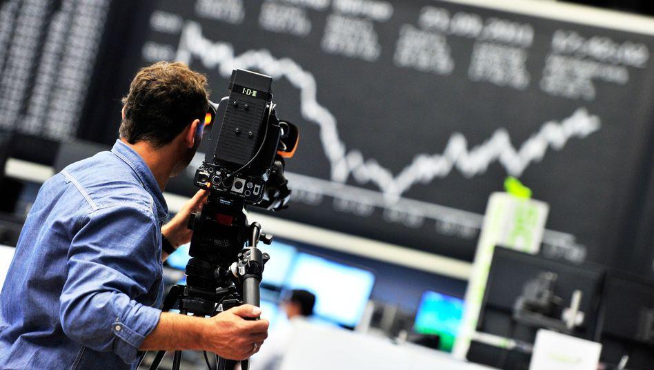 Börse in Frankfurt: Zum Rekordhoch fehlen weniger als zwei Prozent