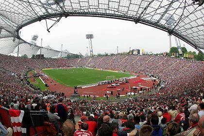 Ausgedient: Das denkmalgeschützte Olympiastadion in München