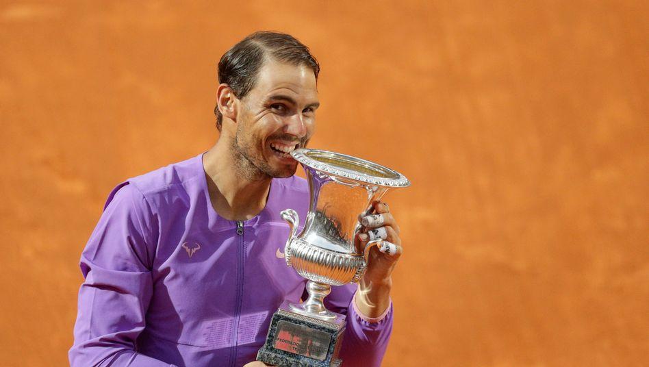 Rafael Nadal gewann zum zehnten Mal in Rom