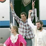 Germany paid a reported €5 million to free 16 German hostages in Algeria in 2003.