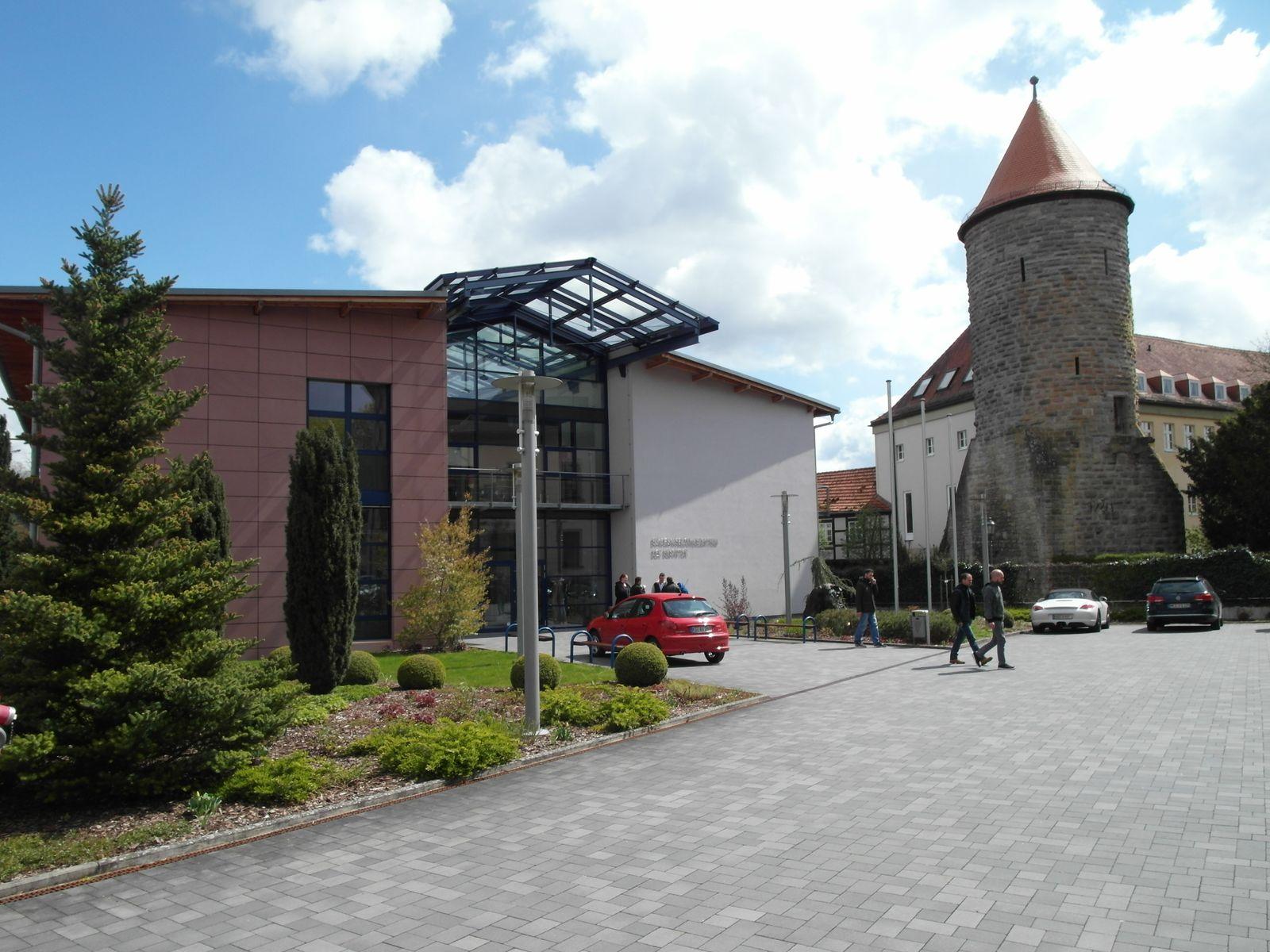 EINMALIGE VERWENDUNG Bestatter / Münnerstadt