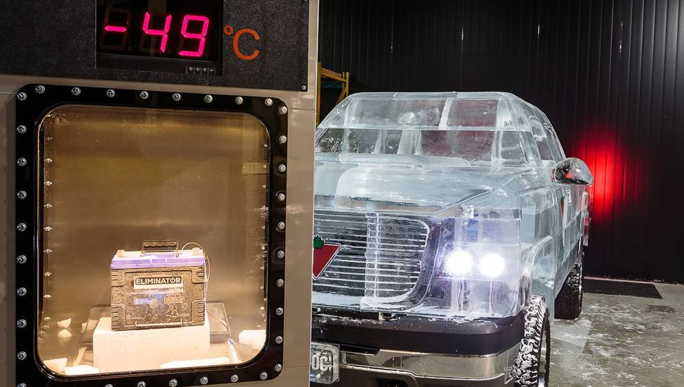 Rekordfahrt mit einem Eis-Truck: Chevy on the Rocks