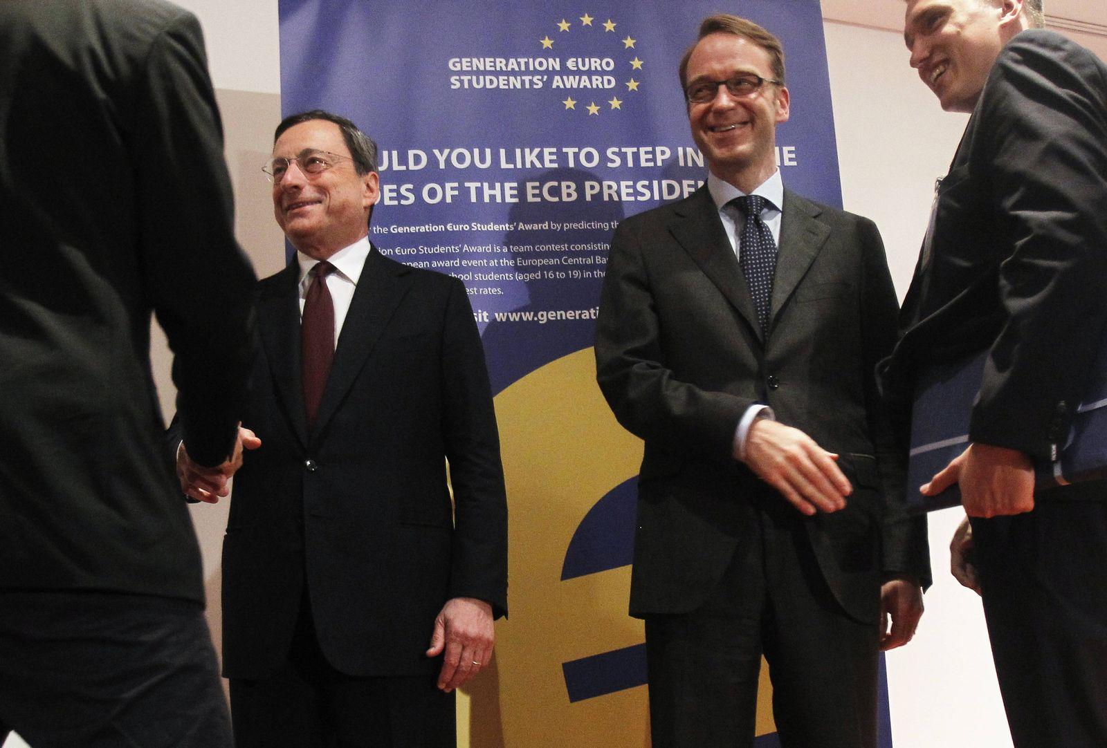 Draghi / Weidmann / Bundesbank / EZB