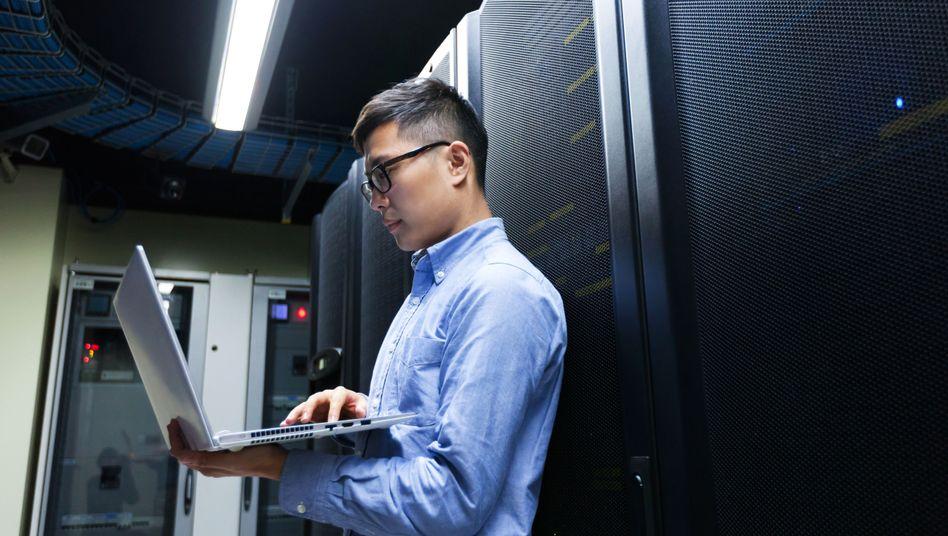 Ein junger IT-Ingenieur