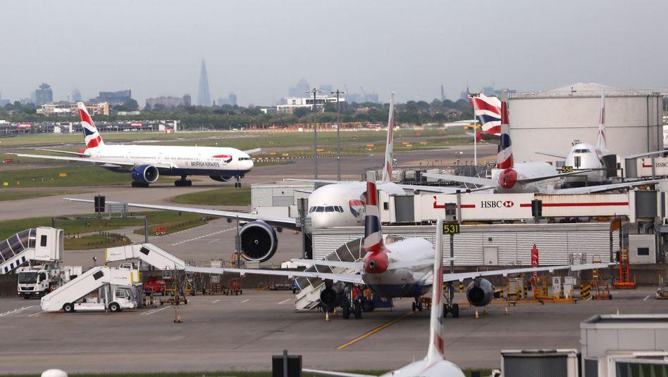 Flughafen Heathrow in London (Archivbild)