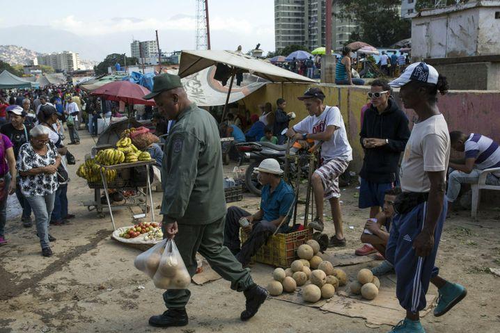 Markt in Caracas