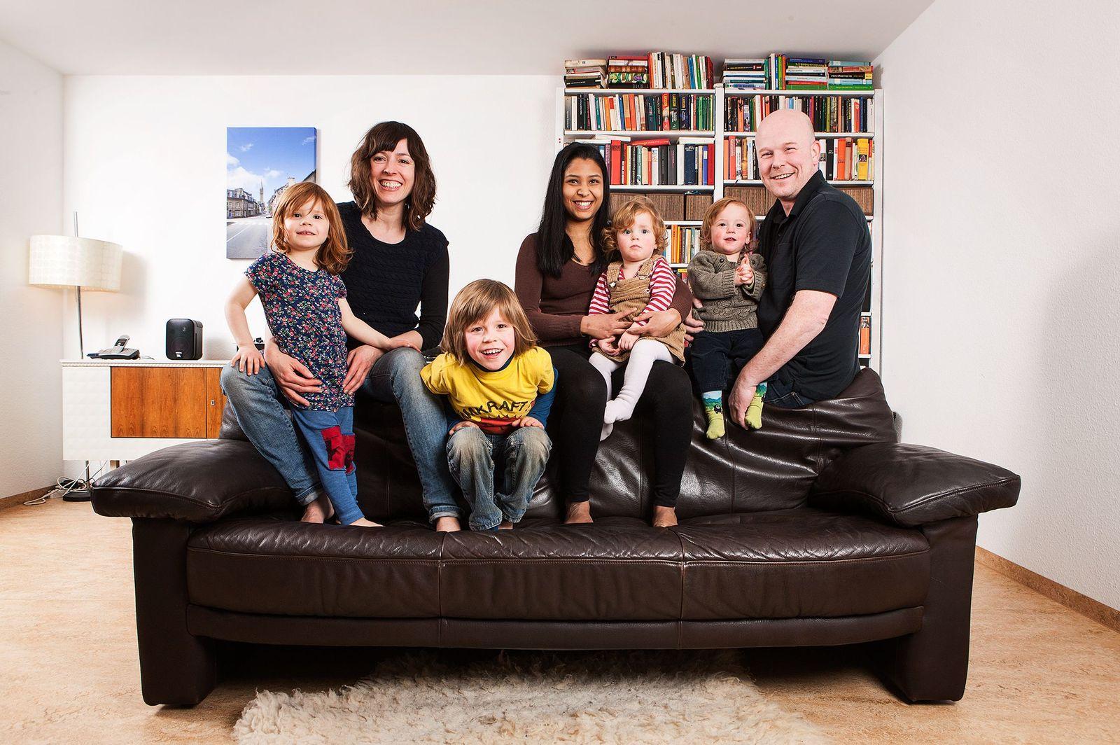 EINMALIGE VERWENDUNG Familien - Großfamilie