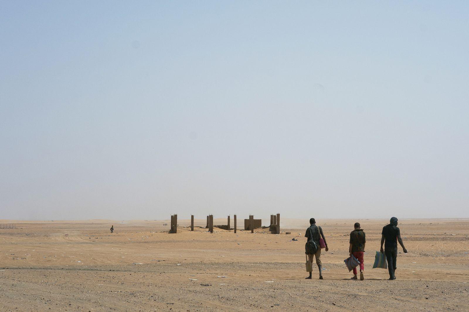 Sahara / Migranten
