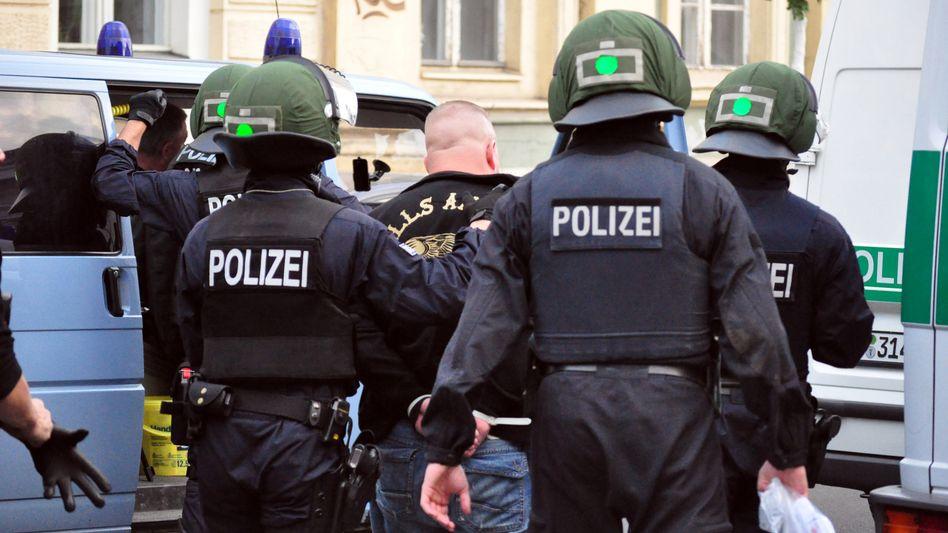Razzia der Polizei in Potsdam: Monatelange Arbeit durch eine Indiskretion ruiniert