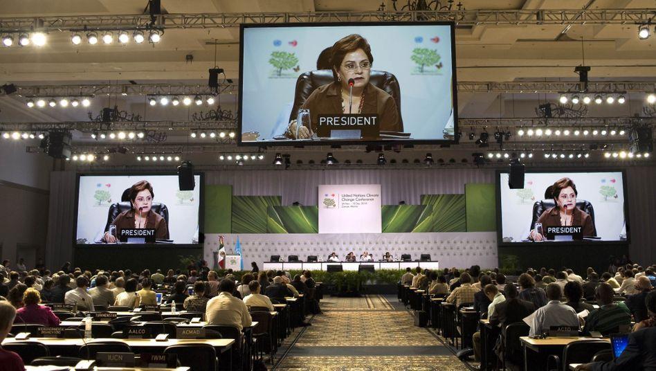 Plenum des Cancún-Gipfels: Starke Unterstützung für Entwurf