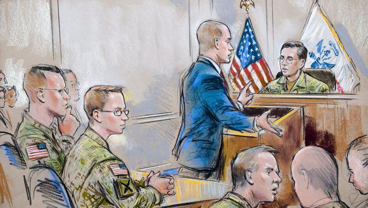 US-Soldat Bradley Manning: WikiLeaks-Informant erscheint erstmals vor Militärgericht