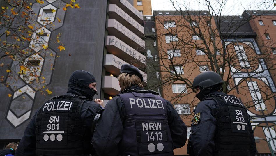 Polizeieinsatz in Berlin am 17. November