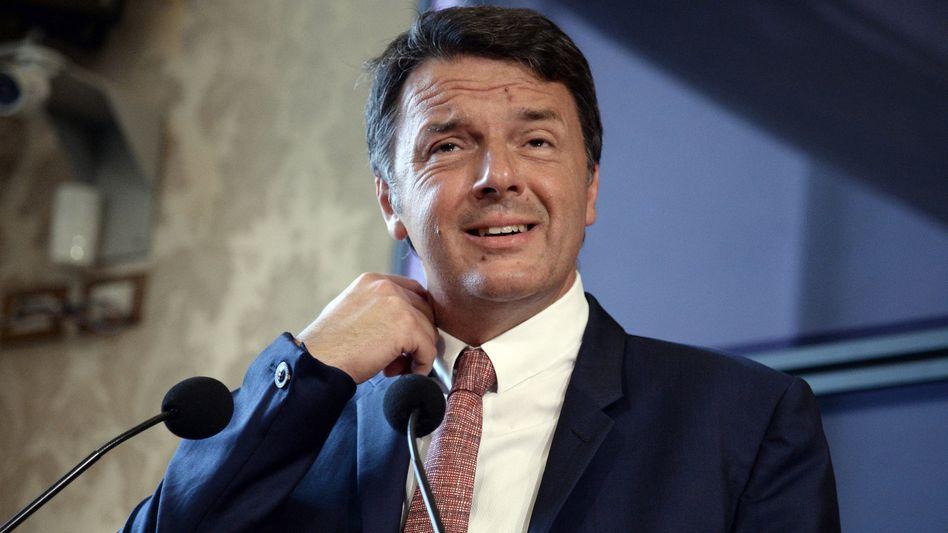 Ex-Sozialdemokrat Matteo Renzi