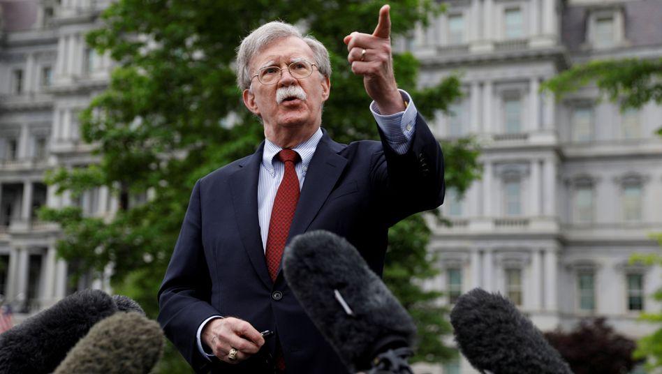 """US-Sicherheitsberater John Bolton: """"Ich denke, es wird uns helfen"""""""