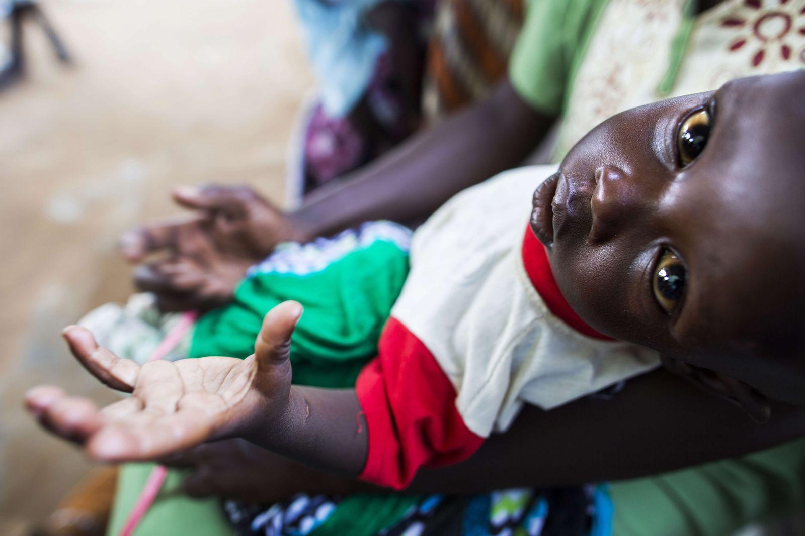 Unterernährung Sudan