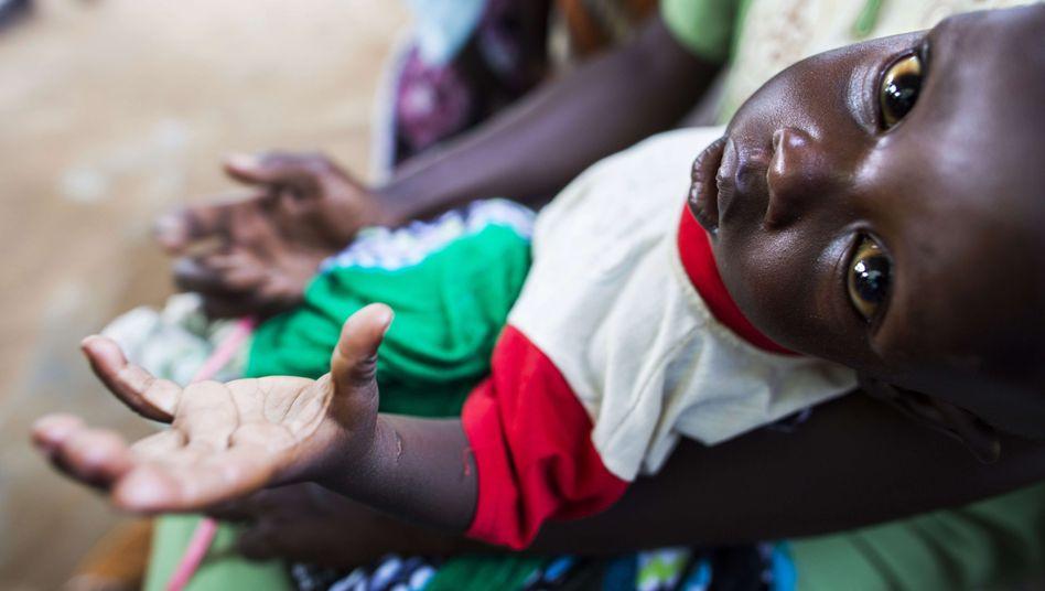 Ein Kind im Südsudan: In dem Land gefährden Gewalt und Dürre die Ernährung der Menschen