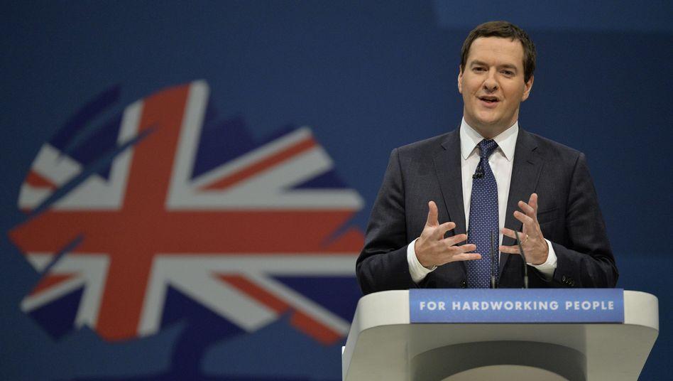 """Schatzkanzler Osborne (Archivbild): """"Reformen oder Abstieg"""""""