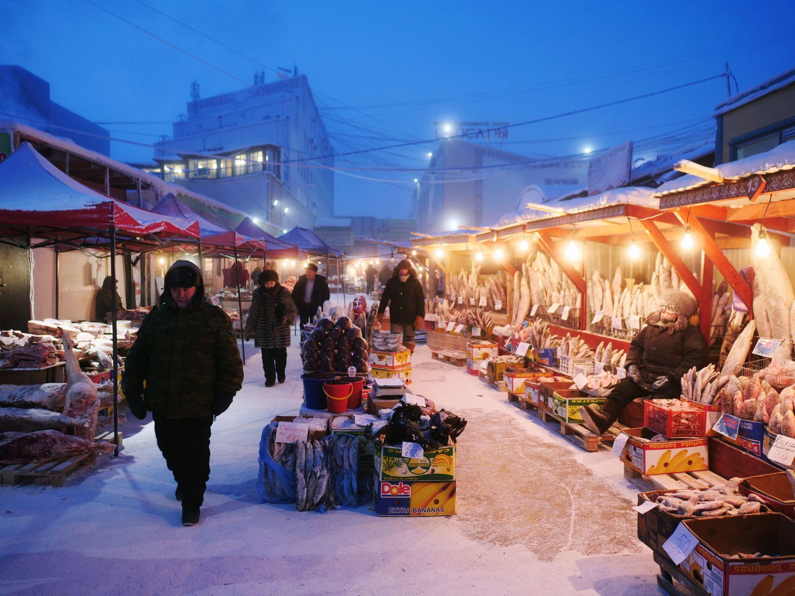 Russland/ Jakutsk/ Die kälteste Stadt der Welt
