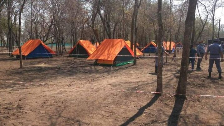 This tent city in the Argentinian province of Formosa has now been closed. It served as an isolation center for those infected with the coronavirus, especially from poorer areas.